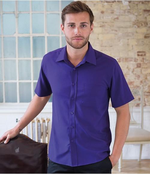 Henbury Short Sleeve Anti-bac Wicking Shirt