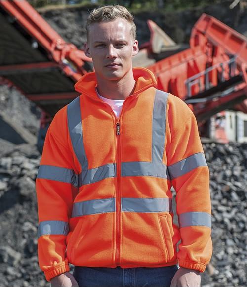 RTY High Visibility Fleece Jacket