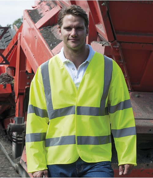 RTY High Visibility Motorway Coat