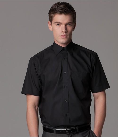K102 Kustom Kit Short Sleeve Classic Fit Business Shirt
