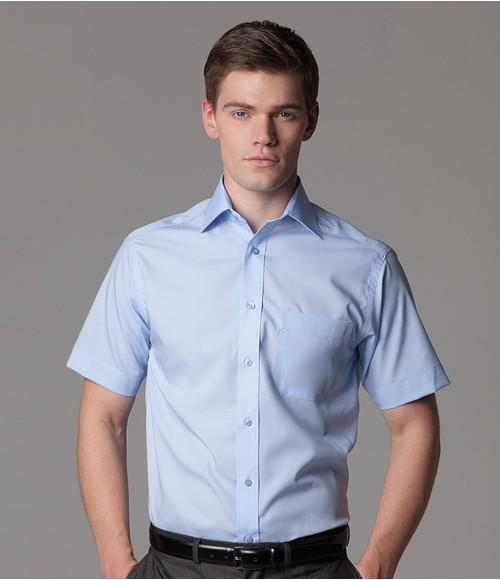 K115 Kustom Kit Premium Short Sleeve Classic Fit Non-Iron Shirt