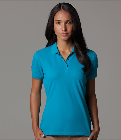 K213 Kustom Kit Ladies Klassic Slim Fit Pique Polo Shirt
