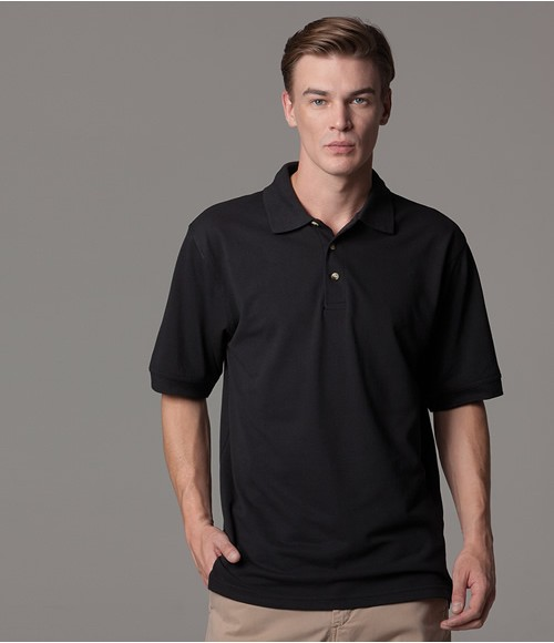 K407 Kustom Kit Chunky Poly/Cotton Pique Polo Shirt