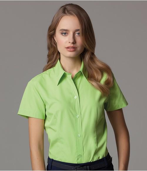 K728 Kustom Kit Ladies Short Sleeve Classic Fit Workforce Shirt
