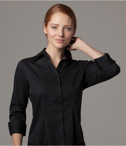 Kustom Kit Bargear  Ladies 3/4 Sleeve Shirt