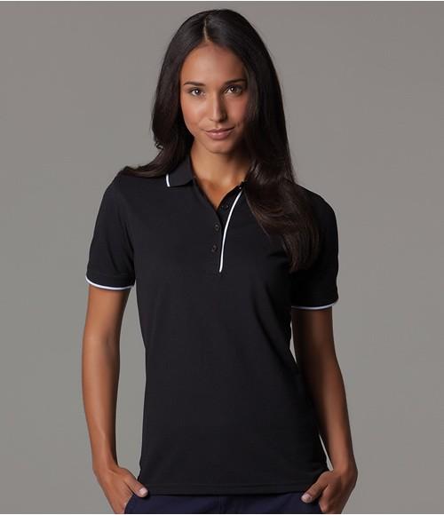Kustom Kit Ladies Essential Poly/Cotton Pique Polo Shirt