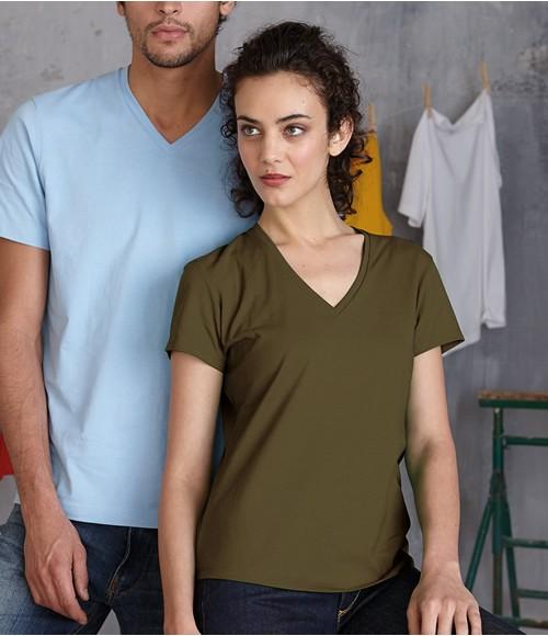 Kariban Ladies V Neck T-Shirt