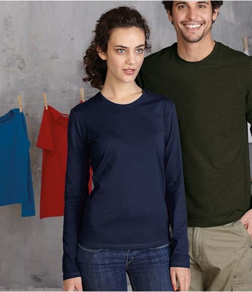 Kariban Ladies Long Sleeve Crew Neck T-Shirt