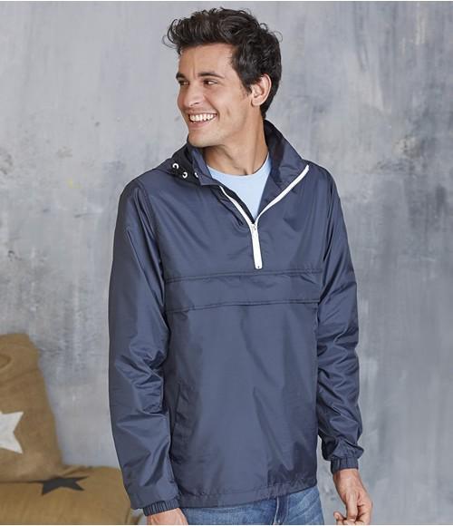 Kariban Zip Neck  Windbreaker Jacket