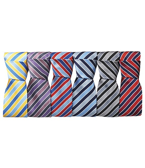 PR766 Premier Candy Stripe Tie