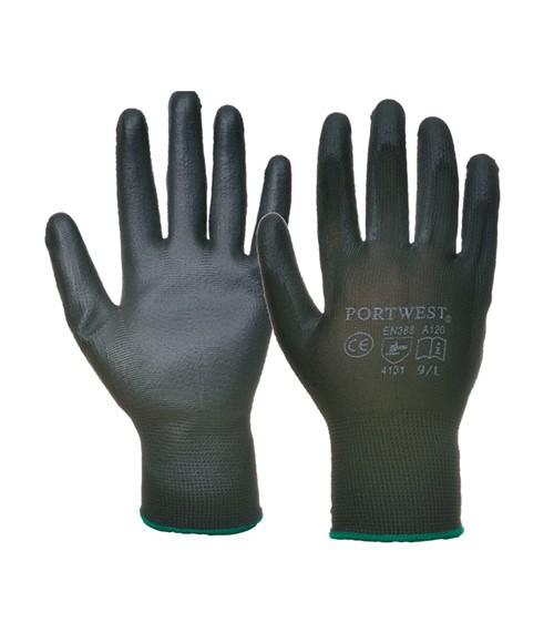 Portwest PU Palm Gloves.