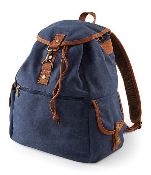 Quadra Vintage Canvas Backpack