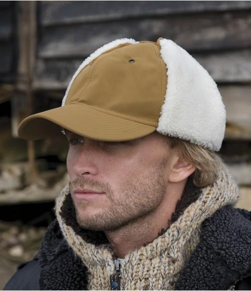 Result Faux Sheepskin Hat