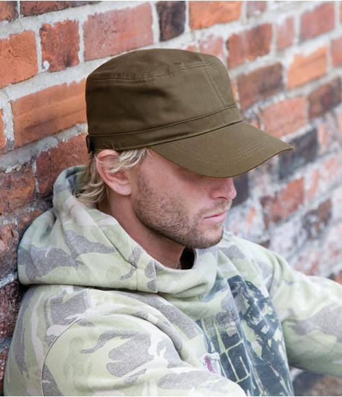 Result Urban Trooper Fully Lined Cap