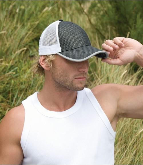 Result Truckers Straw Look Cap