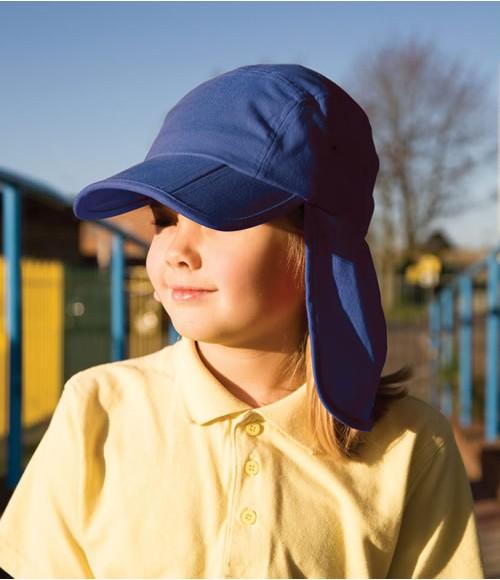 Result Kids Fold Up Legionnaires Cap