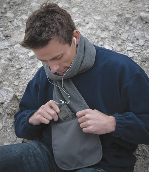 RS100 Result Polartherm Scarf with Zip Pocket