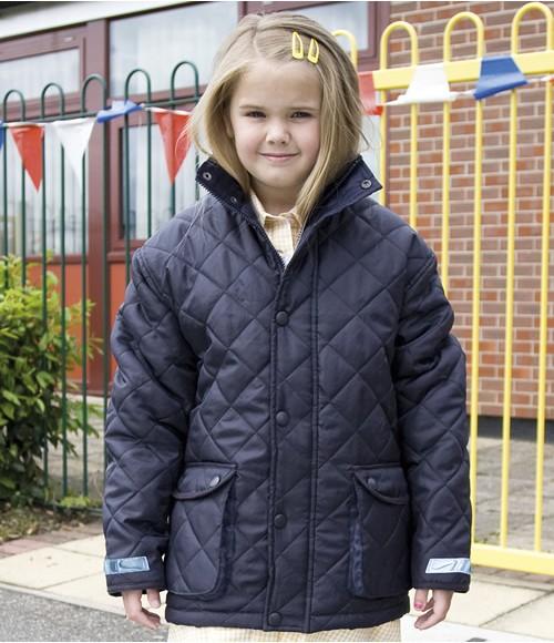 RS195B Result Urban Kids Cheltenham Jacket