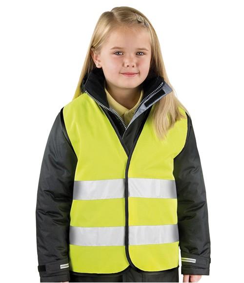 RS200B Result Core Kids Hi-Vis Safety Vest