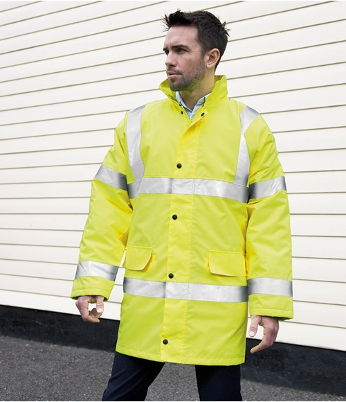 Result Core High Visibility Motorway Coat