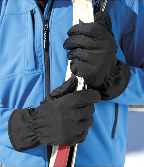 RS364 Result Soft Shell Thermal Gloves