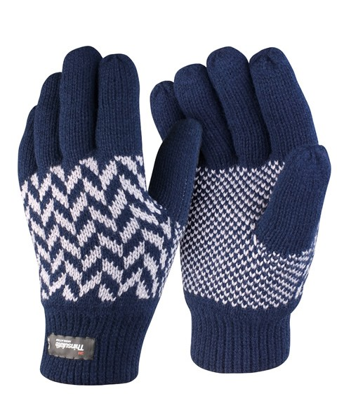 RS365 Result Pattern Thinsulate Gloves