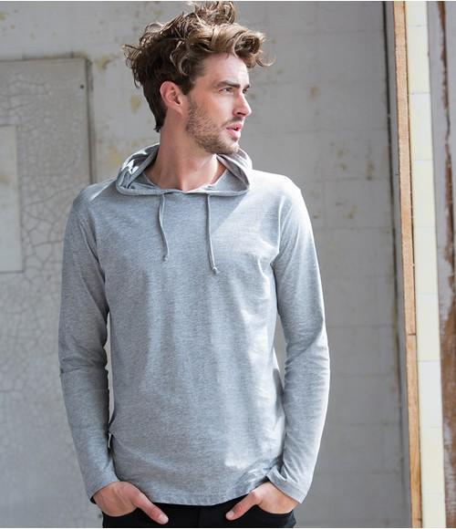Skinnifitmen Long Sleeve Hooded T-Shirt