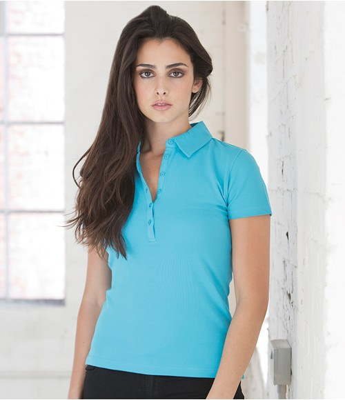 Skinnifit Ladies Stretch Pique Polo Shirt