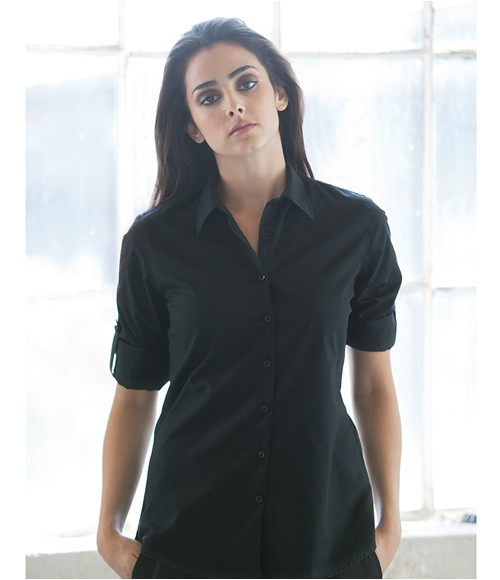Skinnifit Roll Sleeve Shirt