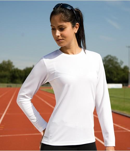 Spiro Ladies Performance Long Sleeve T-Shirt