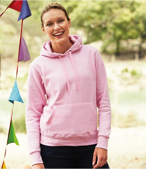 Fruit of the Loom Classic Lady Fit Hooded Sweatshirt