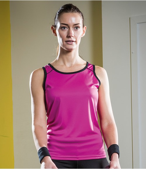 Tombo Teamsport Ladies Running Vest