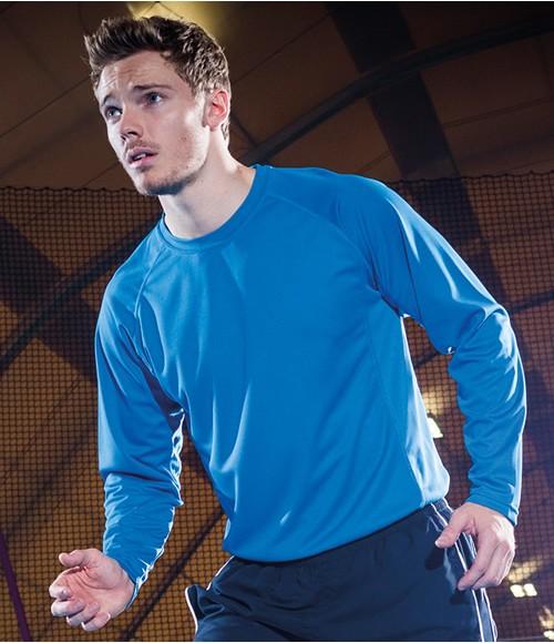 Tombo Teamsport Long Sleeve Running T-Shirt