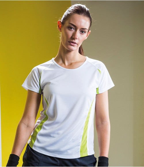 Tombo Teamsport Ladies Contrast Performance T-Shirt