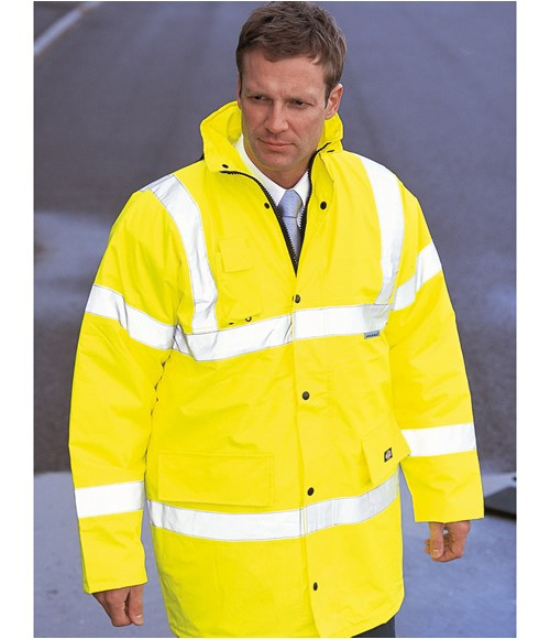 Dickies High Visibility Motorway Safety Jacket