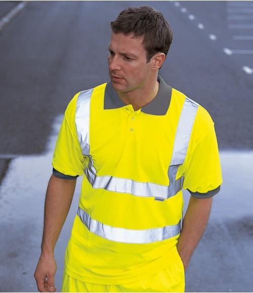 Dickies High Visibility Polo Shirt