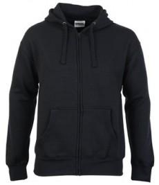 C206 Classic Zip Hood - Black 36