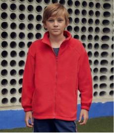 SS50B Fruit of the Loom Kids Fleece Jacket