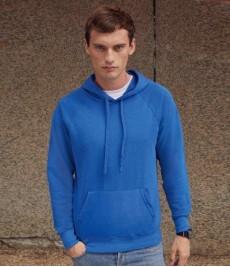 SS121 Fruit of the Loom Lightweight Hooded Sweatshirt