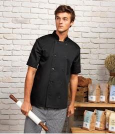 PR656 Premier Short Sleeve Chef's Jacket
