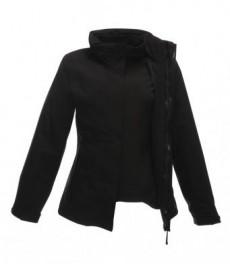 RG099Regatta Ladies Kingsley 3-in-1 Jacket-Black