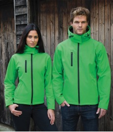 Result Core TX Perf Hooded Softshell Jacket