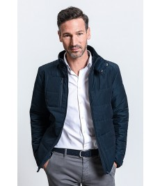 430M Russell Cross Padded Jacket Navy