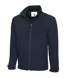 UC611 Softshell Jacket-Navy