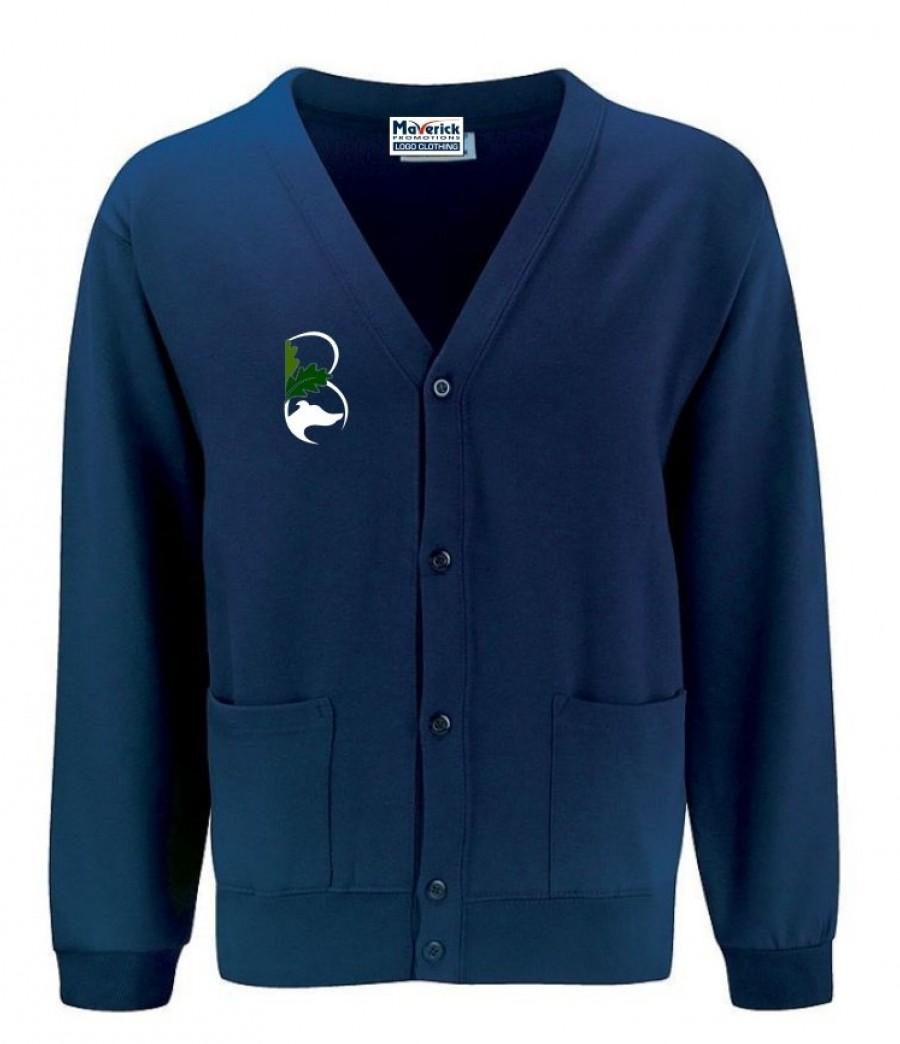 Belton lane primary sch junior cardigan for Name brand golf shirts direct