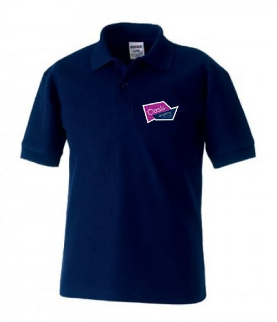 Embroidered Polo Shirt With Oasis Blakenhale Junior