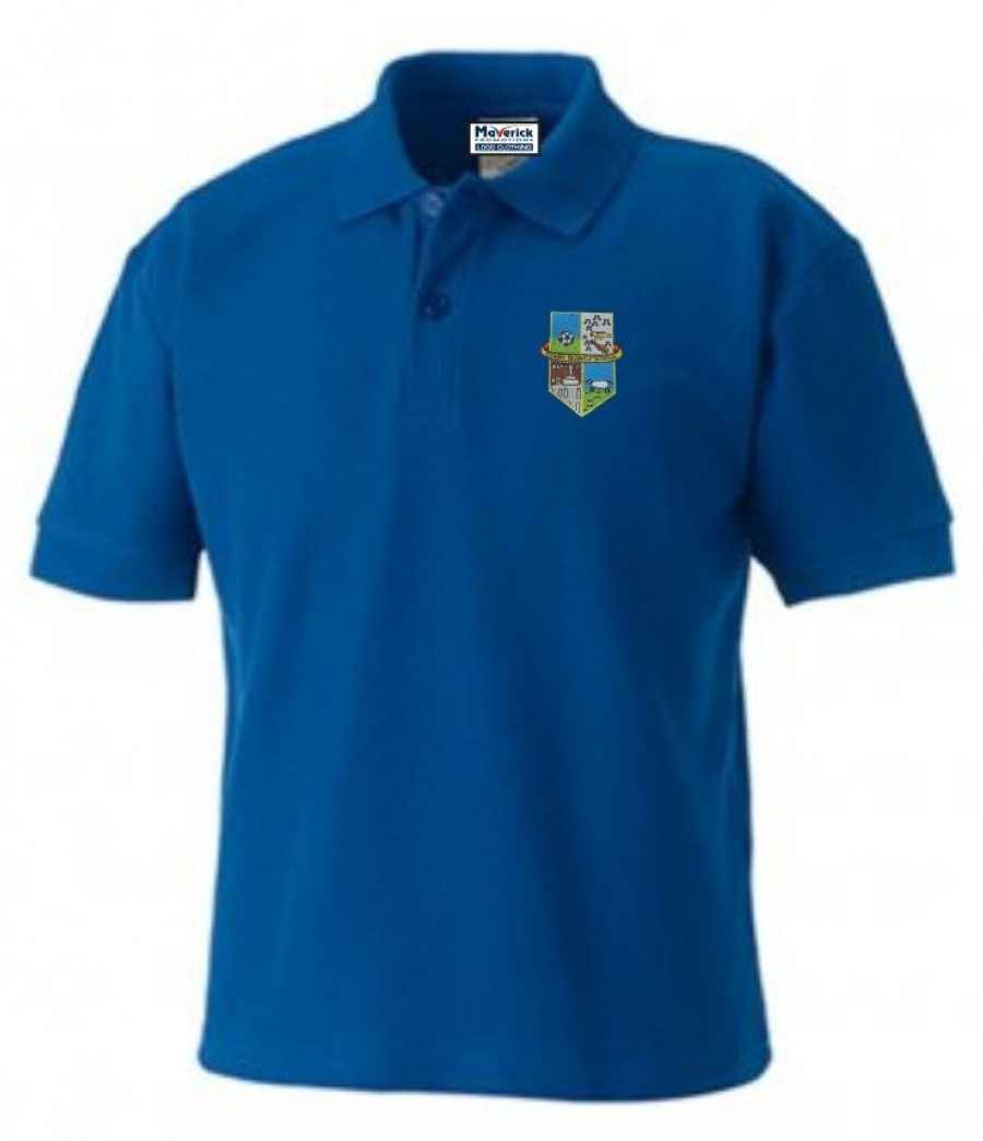 Corby glen cp school polo shirt for Name brand golf shirts direct