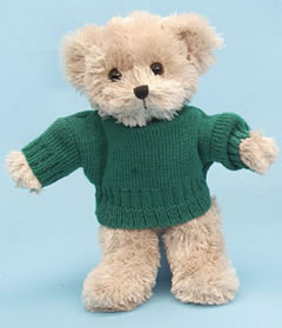 Patterns For Knit Fabrics : Metro Teddy Bear Knitted Jumper MB1004.