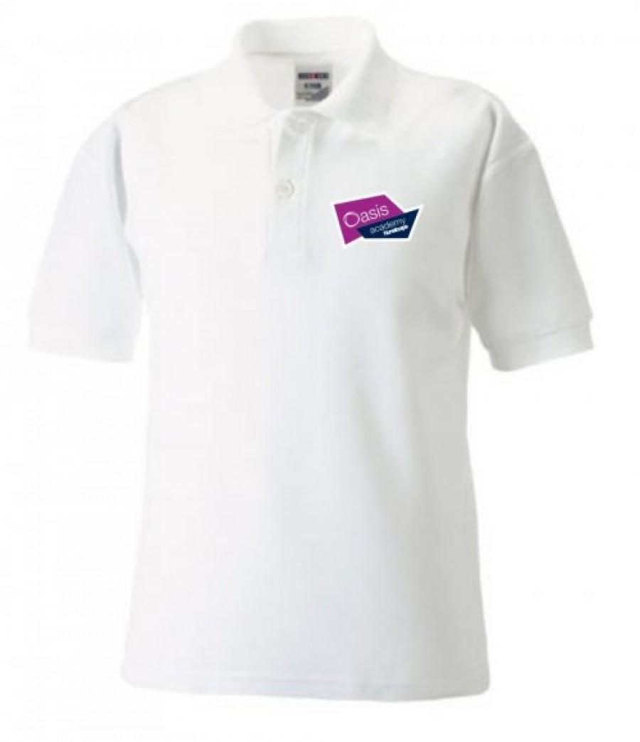 Nunsthorpe polo shirt white white muc103 oan white a for Name brand golf shirts direct