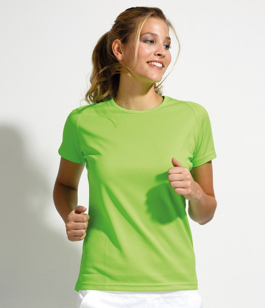Sol 39 s ladies sporty t shirt for Sol s t shirt